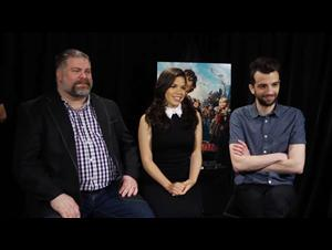 Jay Baruchel, America Ferrera & Dean DeBlois (How to Train Your Dragon 2) Interview Video Thumbnail