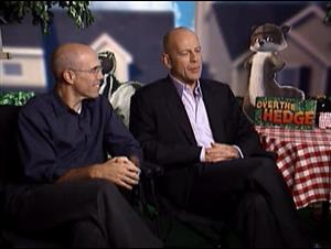 JEFFREY KATZENBERG & BRUCE WILLIS (OVER THE HEDGE) Interview Video Thumbnail