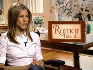 JENNIFER ANISTON (RUMOUR HAS IT...) Interview Video Thumbnail