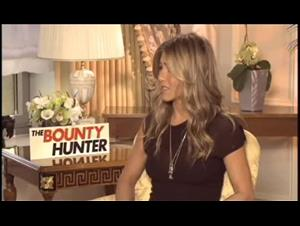 Jennifer Aniston (The Bounty Hunter) Interview Video Thumbnail