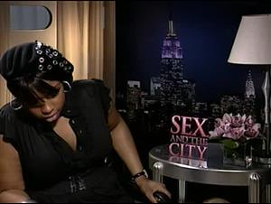 Jennifer Hudson (Sex and the City) Interview Video Thumbnail