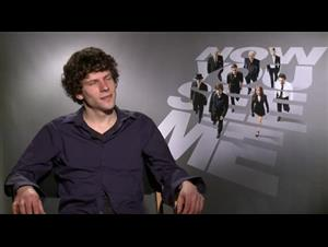 Jesse Eisenberg (Now You See Me) Interview Video Thumbnail
