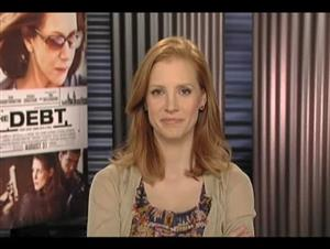 Jessica Chastain (The Debt) Interview Video Thumbnail