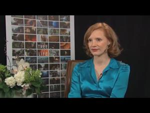 Jessica Chastain (The Tree of Life) Interview Video Thumbnail