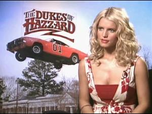 JESSICA SIMPSON - THE DUKES OF HAZZARD Interview Video Thumbnail