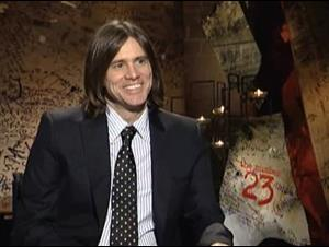 JIM CARREY (THE NUMBER 23) Interview Video Thumbnail