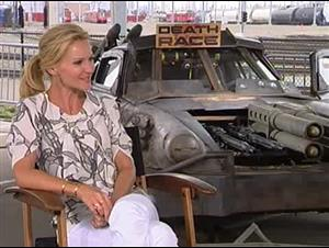 Joan Allen (Death Race) Interview Video Thumbnail
