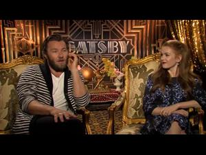 Joel Edgerton & Isla Fisher (The Great Gatsby) Interview Video Thumbnail