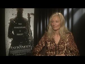 Joely Richardson (Anonymous) Interview Video Thumbnail