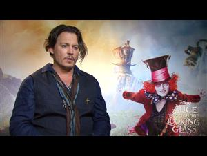 johnny-depp-interview-alice-through-the-looking-glass Video Thumbnail