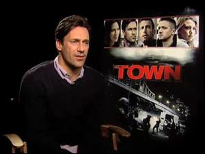 Jon Hamm (The Town) Interview Video Thumbnail