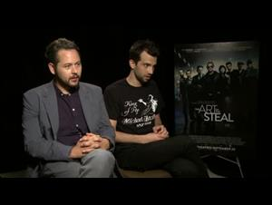 Jonathan Sobol & Jay Baruchel (The Art of the Steal) Interview Video Thumbnail
