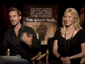 JOSEPH FIENNES & CONNIE NIELSEN - THE GREAT RAID Interview Video Thumbnail