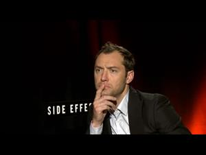 Jude Law (Side Effects) Interview Video Thumbnail