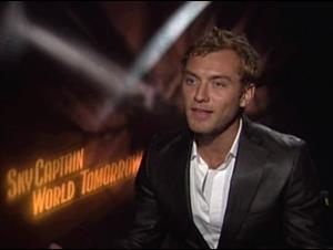 JUDE LAW - SKY CAPTAIN AND THE WORLD OF TOMORROW Interview Video Thumbnail