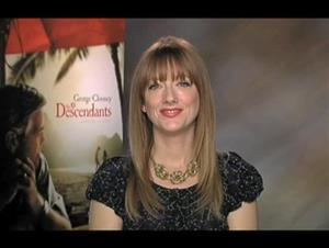 Judy Greer (The Descendants) Interview Video Thumbnail