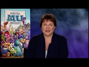 Julia Sweeney (Monsters University) Interview Video Thumbnail