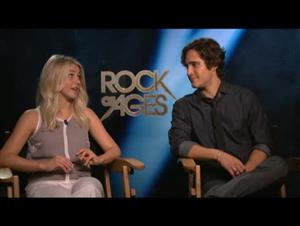 Julianne Hough & Diego Boneta (Rock of Ages) Interview Video Thumbnail