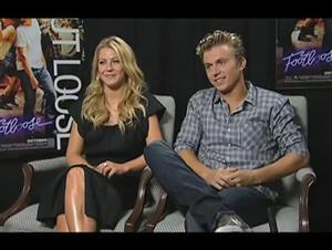 Julianne Hough & Kenny Wormald (Footloose) Interview Video Thumbnail