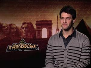 Justin Bartha (National Treasure: Book of Secrets) Interview Video Thumbnail
