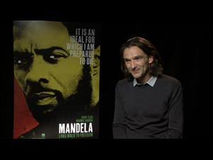 Justin Chadwick (Mandela: Long Walk to Freedom) Interview Video Thumbnail