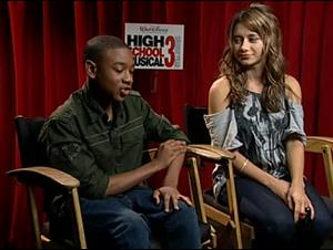 Justin Martin & Olesya Rulin (High School Musical 3: Senior Year) Interview Video Thumbnail