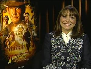 Karen Allen (Indiana Jones and the Kingdom of the Crystal Skull) Interview Video Thumbnail