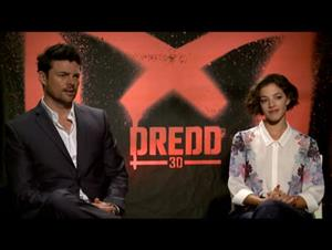 Karl Urban & Olivia Thirlby (Dredd 3D) Interview Video Thumbnail