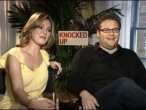 Katherine Heigl & Seth Rogen (Knocked Up) Interview Video Thumbnail