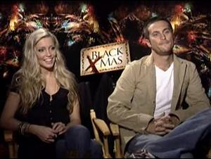 KATIE CASSIDY & OLIVER HUDSON (BLACK CHRISTMAS) Interview Video Thumbnail