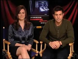 Katie Featherston & Micah Sloat (Paranormal Activity) Interview Video Thumbnail