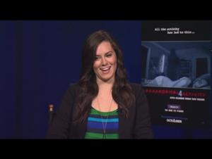 Katie Featherston (Paranormal Activity 4) Interview Video Thumbnail