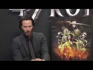Keanu Reeves (47 Ronin) Interview Video Thumbnail