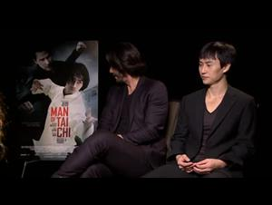 Keanu Reeves & Tiger Chen (Man of Tai Chi) Interview Video Thumbnail