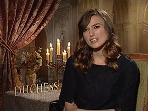 Keira Knightley (The Duchess) Interview Video Thumbnail