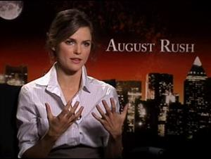 Keri Russell (August Rush) Interview Video Thumbnail