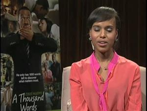 Kerry Washington (A Thousand Words) Interview Video Thumbnail