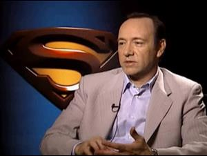 KEVIN SPACEY (SUPERMAN RETURNS) Interview Video Thumbnail