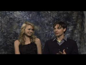 Kristen Hager & Gregory Smith (Leslie, My Name is Evil) Interview Video Thumbnail