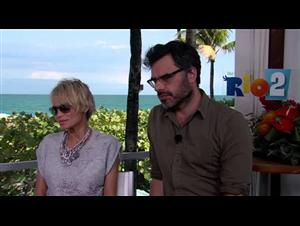Kristin Chenoweth & Jemaine Clement (Rio 2) Interview Video Thumbnail