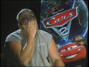Larry the Cable Guy (Cars 2) Interview Video Thumbnail