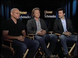 Larry Wilmore, Bruce Greenwood & Ron Livingston (Dinner for Schmucks) Interview Video Thumbnail