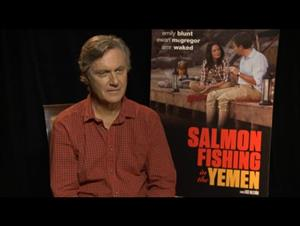Lasse Hallstrom (Salmon Fishing in the Yemen) Interview Video Thumbnail