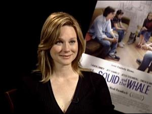 LAURA LINNEY - THE SQUID AND THE WHALE Interview Video Thumbnail