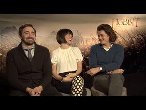 lee-pace-evangeline-lilly-orlando-bloom-the-hobbit-the-battle-of-the-five-armies Video Thumbnail
