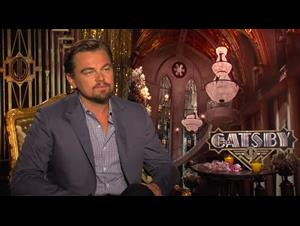 Leonardo DiCaprio (The Great Gatsby) Interview Video Thumbnail