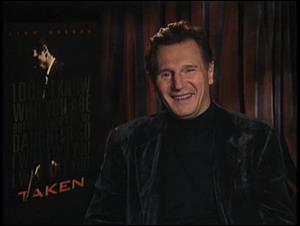 Liam Neeson (Taken) Interview Video Thumbnail