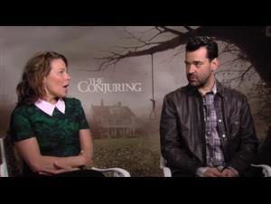 Lili Taylor & Ron Livingston (The Conjuring) Interview Video Thumbnail