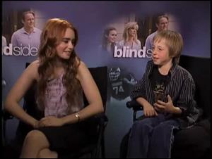 Lily Collins & Jae Head (The Blind Side) Interview Video Thumbnail