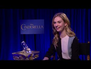 Lily James (Cinderella) Interview Video Thumbnail